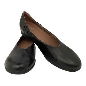 Dansko New Women's Kira Black Leather Shoe size 38